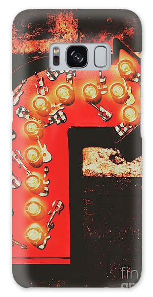 Rock Through This Way Galaxy Case by Jorgo Photography - Wall Art Gallery