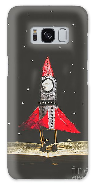 Made Galaxy Case - Rockets And Cartoon Puzzle Star Dust by Jorgo Photography - Wall Art Gallery