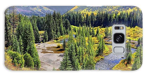 Rockies And Aspens - Colorful Colorado - Telluride Galaxy Case