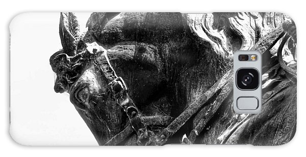Galaxy Case featuring the photograph Rocking Horse by AJ Schibig
