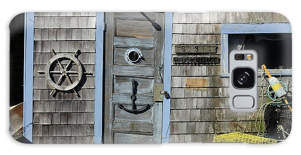 Rockport Fishing Shack Galaxy Case by Lou Ford