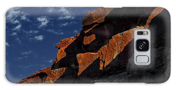 Sky And Rocks Galaxy Case