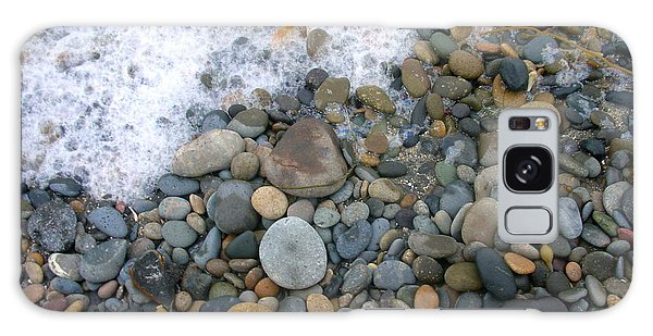 Rocks And Pebbles Galaxy Case by Stephanie Troxell