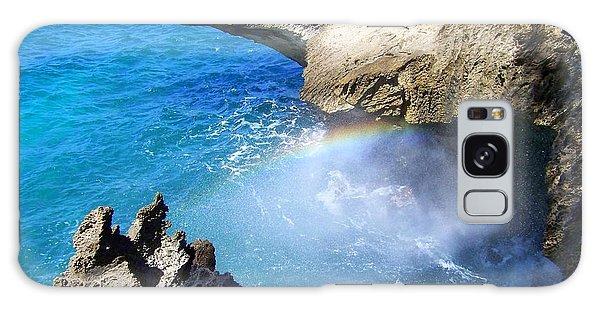 Rocks And Rainbow Galaxy Case by Susan Lafleur