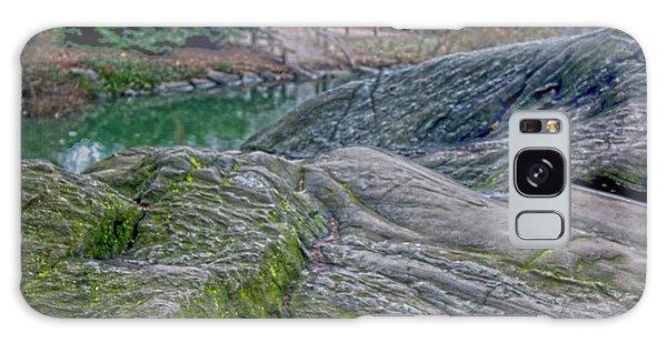 Rocks At Central Park Galaxy Case