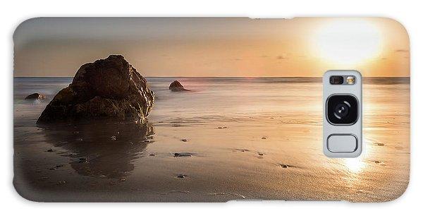 Rocks At Sunset 3 Galaxy Case