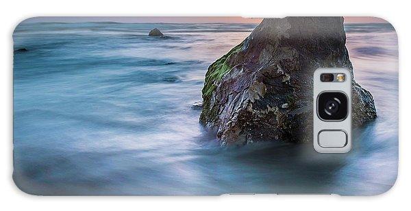 Rocks At Sunset 4 Galaxy Case