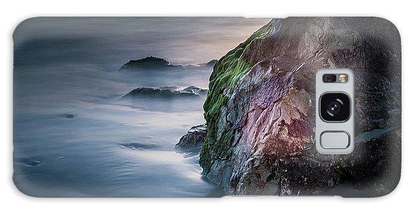 Rocks At Sunset Galaxy Case