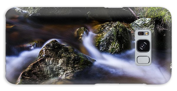 Rocks In A Stream Galaxy Case