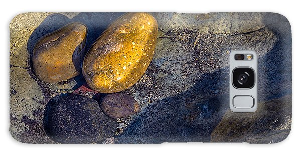 Rocks In Tidepool Galaxy Case