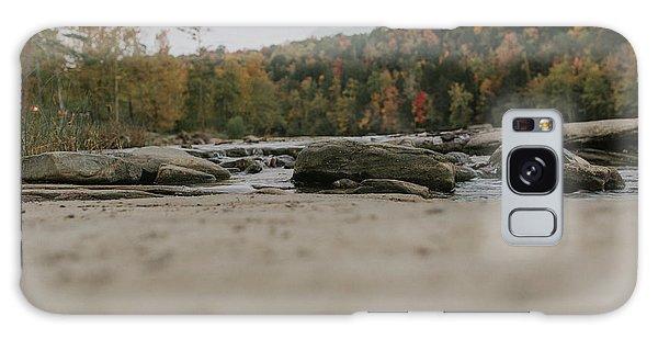 Rocks On Cumberland River Galaxy Case