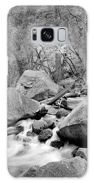 Galaxy Case - Rocks Water And Trees by Bob Neiman