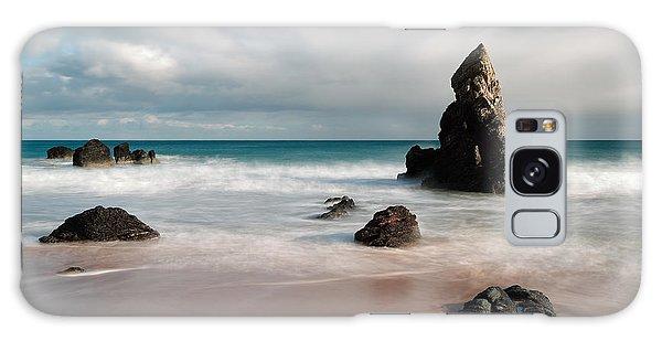 Rocky Beach On Sango Bay Galaxy Case