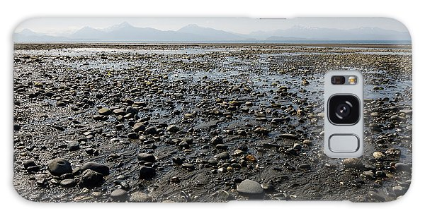 Rocky Beaches Of Alaska Galaxy Case