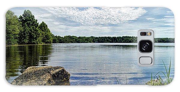 Rocky Fork Lake Galaxy Case