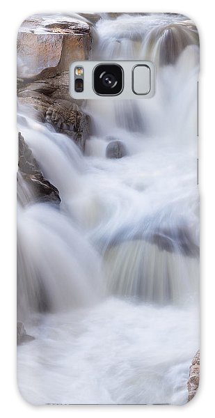 Galaxy Case featuring the photograph Rocky Gorge Falls by Michael Hubley