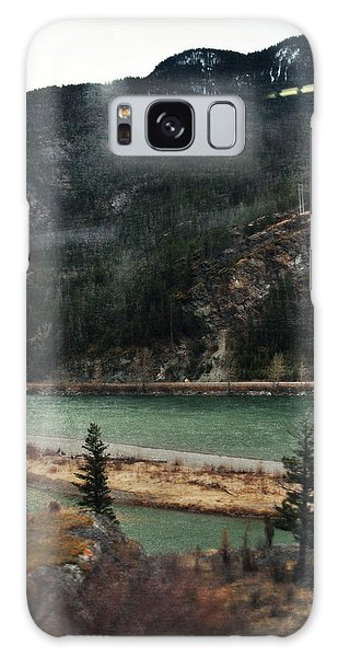 Rocky Mountain Foothills Montana Galaxy Case by Kyle Hanson