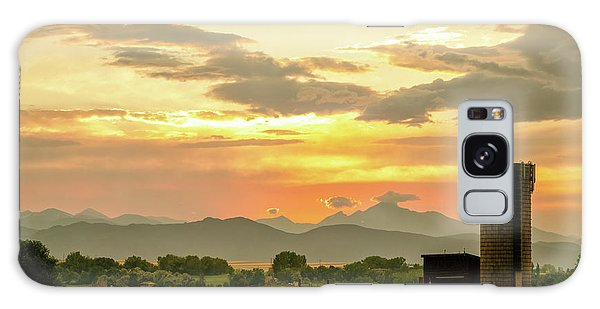 Galaxy Case featuring the photograph Rocky Mountain Front Range Country Landscape by James BO Insogna