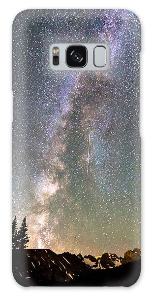 Indian Peaks Wilderness Galaxy Case - Rocky Mountain Milky Way And Falling Star by James BO Insogna