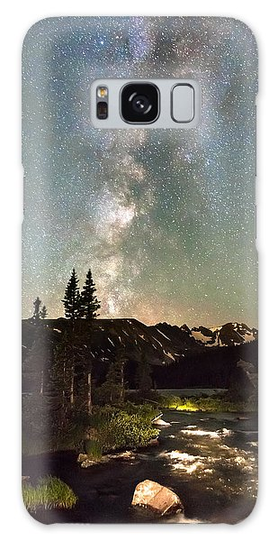 Indian Peaks Wilderness Galaxy Case - Rocky Mountain Night by James BO Insogna