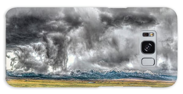 Rocky Mountain Panorama Hdr Galaxy Case