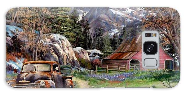 Rocky Mountain Ranch Galaxy Case