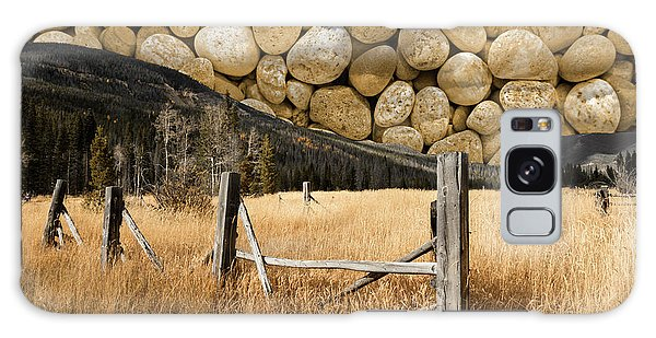 Rocky Mountain Sky Galaxy Case by John Stephens