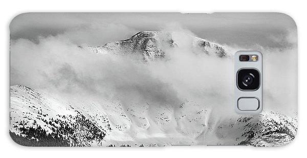 Rocky Mountain Snowy Peak Galaxy Case