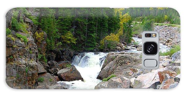Rocky Mountain Stream Galaxy Case