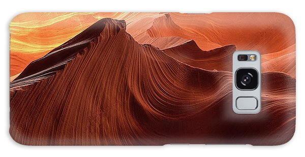 Rocky Mountain Sunrise Galaxy Case