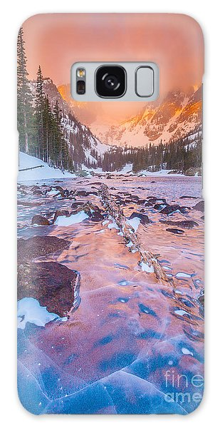 Rocky Mountain Sunrise Galaxy Case