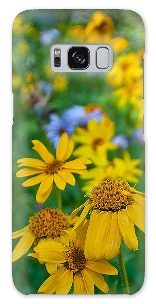 Rocky Mountain Wildflowers Galaxy Case