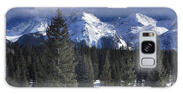 Rocky Mountains, Colorado Galaxy Case