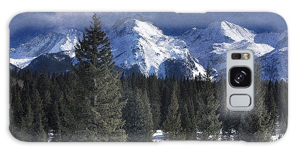 Rocky Mountains, Colorado Galaxy Case by George Robinson