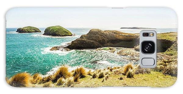 West Bay Galaxy Case - Rocky Ocean Capes by Jorgo Photography - Wall Art Gallery