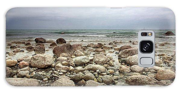 Rocky Shore Galaxy Case by Stefan Nielsen