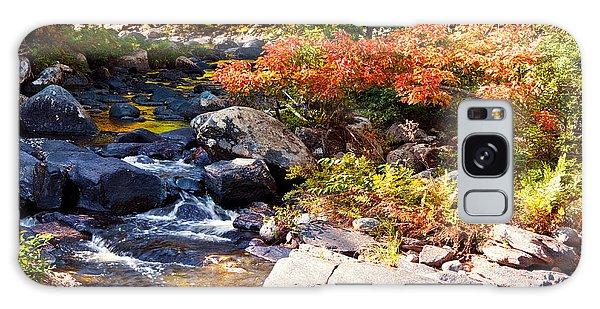 Rocky Stream Waterfalls Galaxy Case
