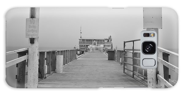 Rod And Reel Pier In Fog In Infrared 53 Galaxy Case