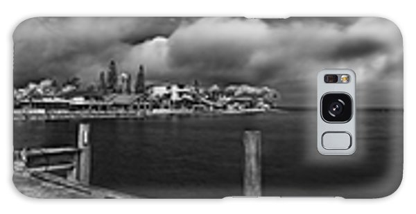 Rod And Reel Pier In Infrared Galaxy Case