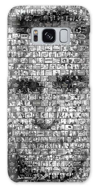 Rod Serling Twilight Zone Mosaic Galaxy Case by Paul Van Scott