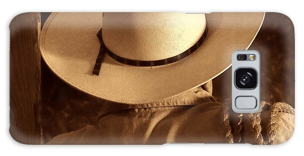 Rodeo Cowboy Galaxy Case by American West Legend By Olivier Le Queinec