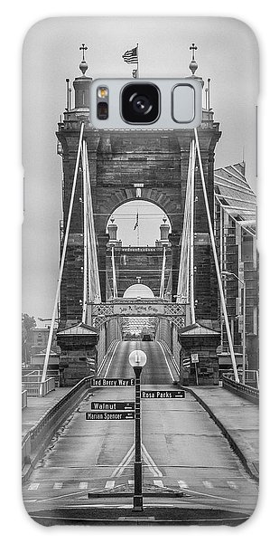 Roebling Bridge Galaxy Case