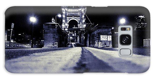 Roebling Suspension Bridge Galaxy Case