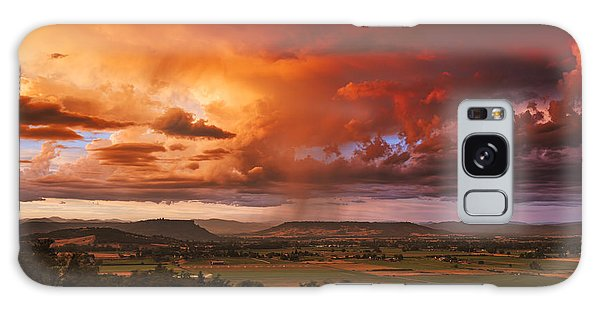 Rogue Valley Sunset Galaxy Case