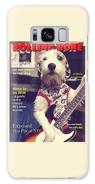 Rolling Bone Magazine Galaxy Case by Richard Reeve