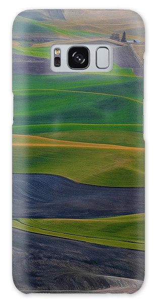 Rolling Fields Of The Palouse Galaxy Case by James Hammond