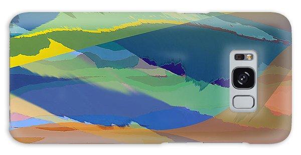Rolling Hills Landscape Galaxy Case