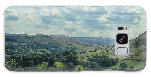 English Countryside Galaxy Case - Rolling Hills by Martin Newman
