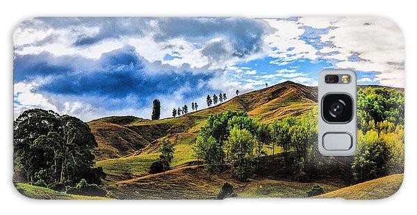 Rolling Hills Galaxy Case by Rick Bragan