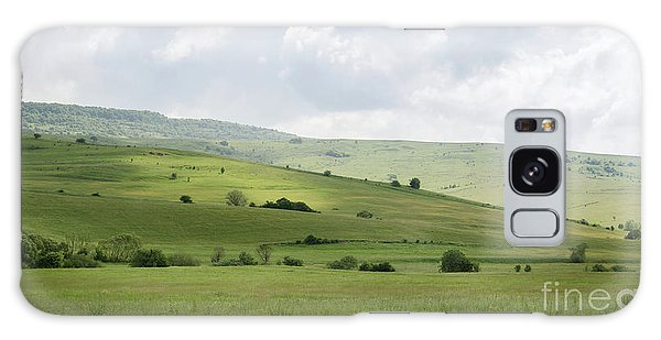 Rolling Landscape, Romania Galaxy Case